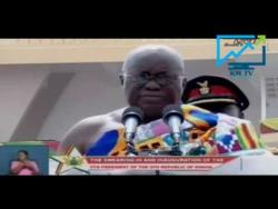 THE PRESIDENT NANA ADDO ADDRESESS THE NATION