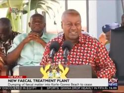 New Faecal Treatment Plant - The Pulse on Joy News (25-11-16)