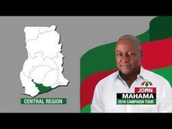 John Mahama 2016 Campaign, Central Region (4)